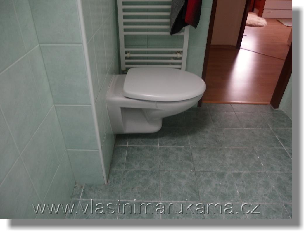 Výška osazení wc mísy