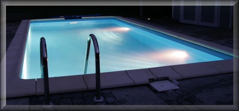 osvěrtlení bazénu