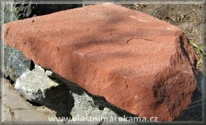 červený pískovec