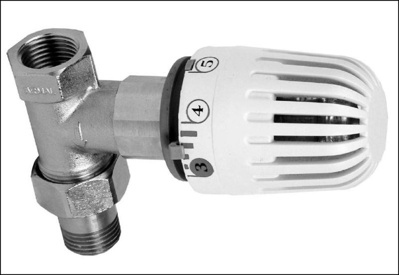 ventil termohlavice