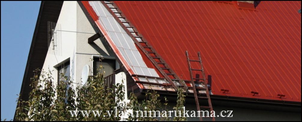 nátěr střechy