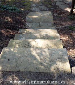 schody z kvádrů