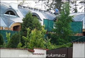 střecha - pokládka